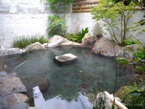 美肌の湯嬉野温泉山水グローバルイン露天風呂