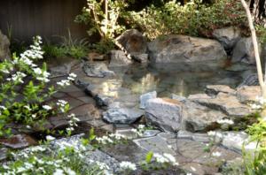 植木温泉ややの湯露天風呂