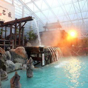 温泉エンターテイメント!霧島ホテルで迫力の庭園大浴場を楽しもう