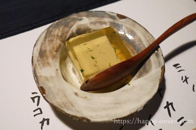 湯布院由布院温泉ゆふいん山椒郎の夜コースが美味しくておすすめ